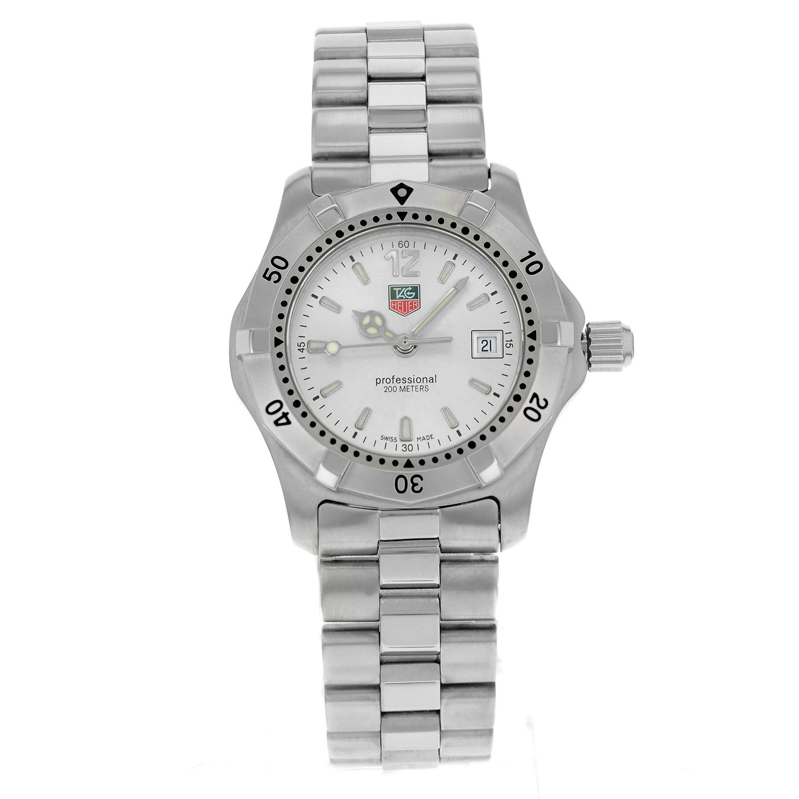 "Image of ""Tag Heuer Professional Wk1312.ba0313 Stainless Steel Quartz 29mm"""