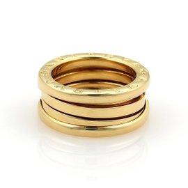 Bulgari B Zero-1 18K Yellow Gold Band Ring Size 4.25