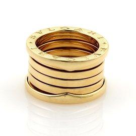 Bulgari B Zero-1 18K Yellow Gold Band Ring Size 6.75