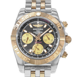 Breitling Chronomat CB014012/BA53-378C Stainless Steel & 18K Rose Gold Automatic 41mm Mens Watch