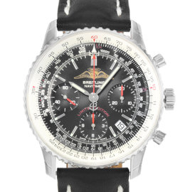 Breitling Navitimer A233222P/BD70 Stainless Steel & Leather Automatic 41.5mm Mens Watch