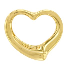 Tiffany & Co. Elsa Peretti 18K Yellow Gold Open Heart Pendant