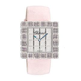 Chopard Ice Cube Fancy Pink Diamond Ladies 37mm Watch