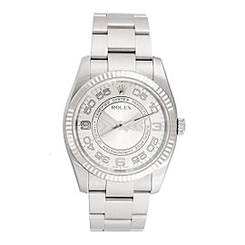 Rolex Oyster Perpetual 116034 Steel Mens 36mm Watch
