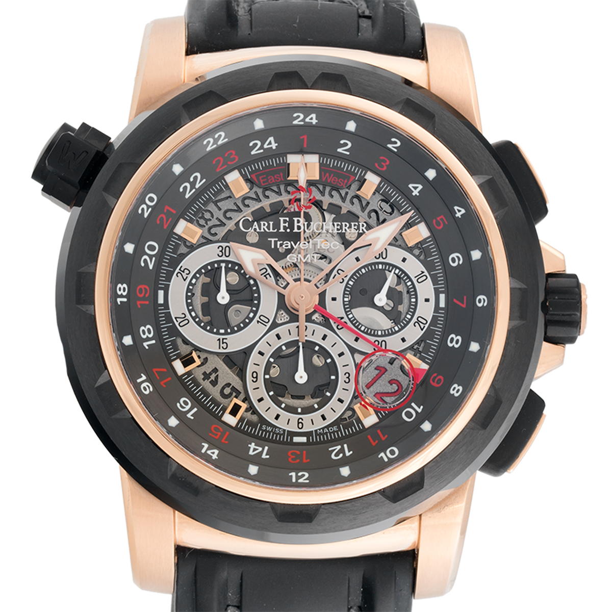 "Image of ""Carl F. Bucherer TravelTec GMT Limited Edition #104/125"""