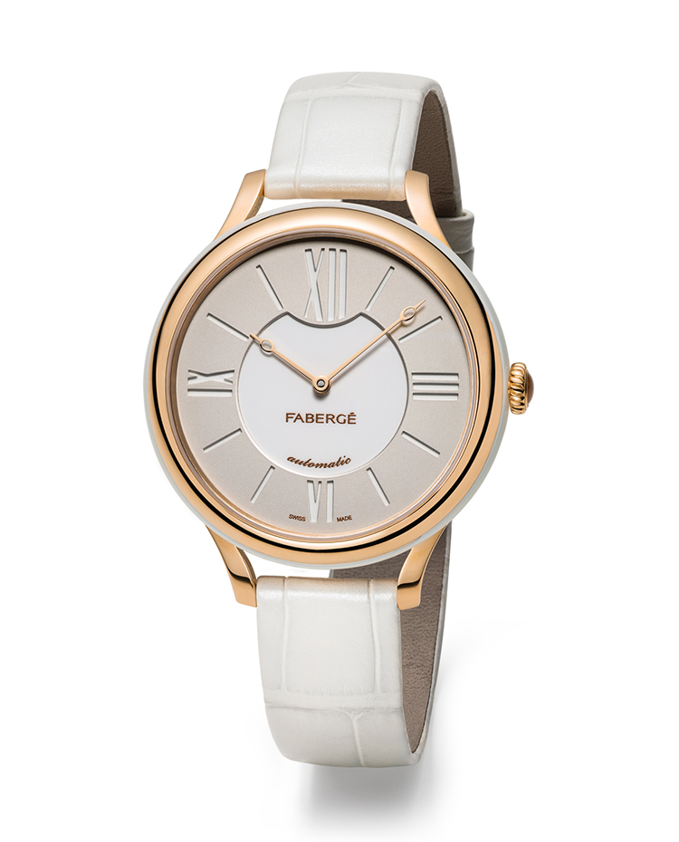 "Image of ""Fabergé Flirt 36mm 18 Karat Rose Gold Watch"""