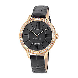 Fabergé Flirt 36mm 18 Karat Rose Gold Watch