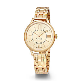 Fabergé Flirt 36mm 18 Karat Yellow Gold Watch