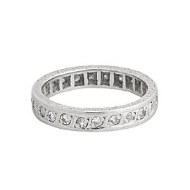 Eternity Platinum Wedding Band