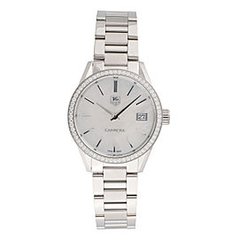 Tag Heuer Carrera WAR1315.BA0778 Stainless Steel & Mother of Pearl Dial 32mm Womens Watch
