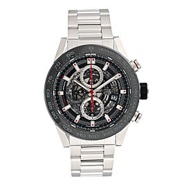 Tag Heuer Carrera CAR2A1W.BA0703 Stainless Steel Automatic 45mm Mens Watch