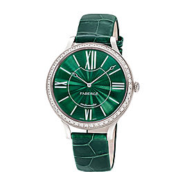 Fabergé Flirt 39mm 18 Karat White Gold Watch