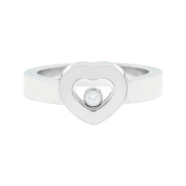 Chopard 18K White Gold Happy Diamonds Ring
