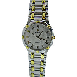 Concord Saratoga Men's 18K Gold & Stainless Steel Watch