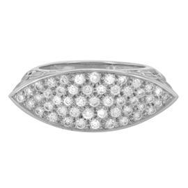 Carrera & Carrera 18K White Gold & Diamonds Women's Ring