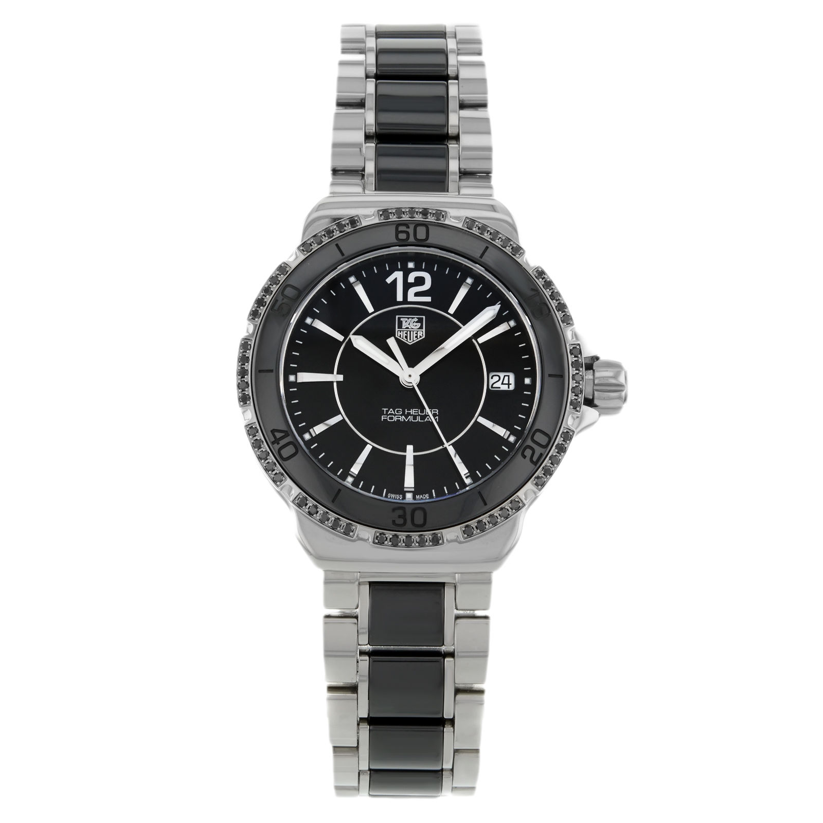 "Image of ""TAG Heuer Formula One Wah121A.ba0859 Steel & Ceramic Quartz Ladies"""