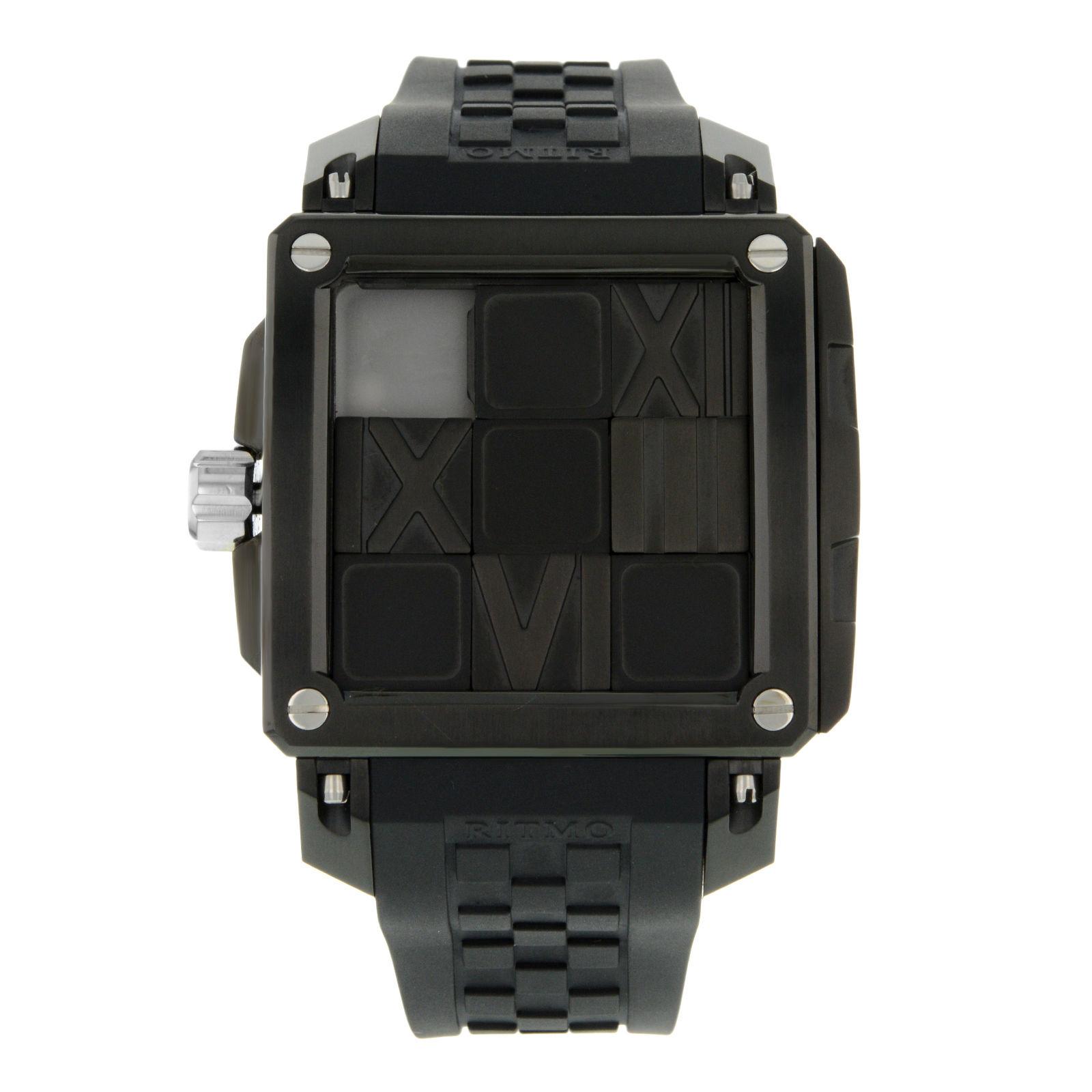 "Image of ""Ritmo Mundo 501/3 Stainless Steel Automatic Men's Watch"""