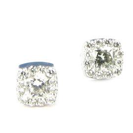 Hearts On Fire 18k White Gold Dream Fulfillment Diamonds Earrings