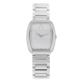 Movado Concerto 0606547 Stainless Steel Quartz Ladies Watch