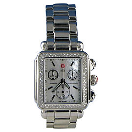 Michele MWW06P000110 Deco Diamond 0.60cts Chronograph Quartz Ladies Watch