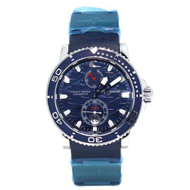 Limited Ulysse Nardin Blue Maxi Marine Chronometer 263-36 Blue Dial Watch