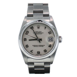 Rolex Oyster Perpetual Stainless Steel Anniversary Dial Watch