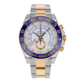 Rolex Yacht-Master II 116681 Steel & 18K Rose Gold Automatic Men's Watch