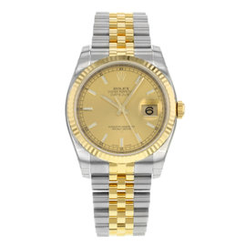 Rolex Datejust 116233 chsj Steel & 18K Yellow Gold Automatic Men's Watch