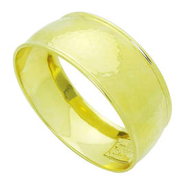 Ippolita 18K Yellow Gold Hammered Gladiator Cuff Bracelet