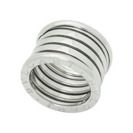 Bulgari B. Zero1 18K White Gold Band Ring