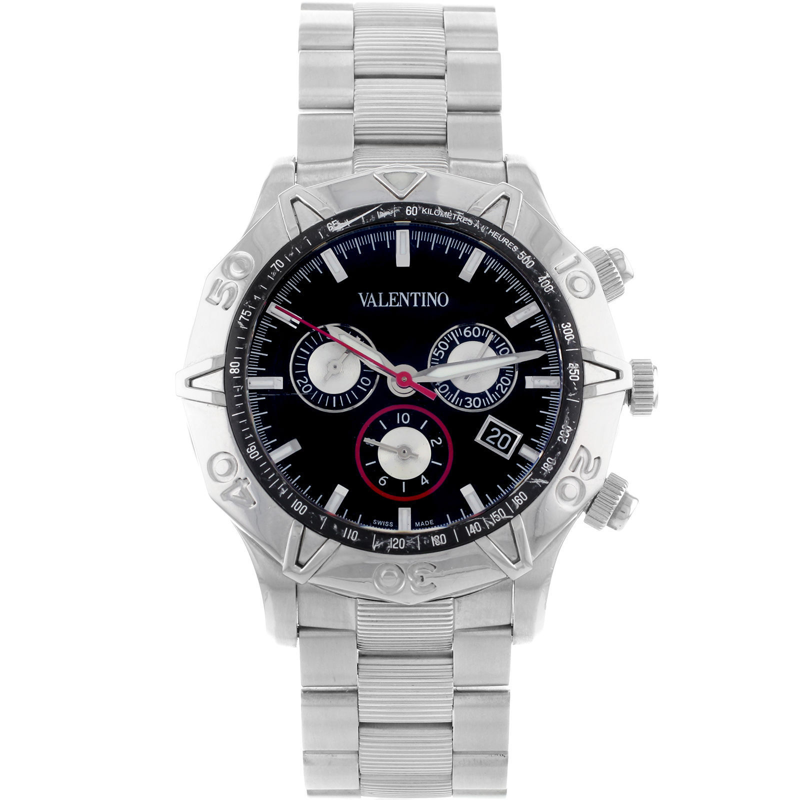 "Image of ""Valentino V40Lcq9909-S099 Stainless Steel Automatic Mens Watch"""