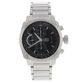 Oris BC4 Chronograph 01 674 7616 4154-07 8 22 58 Steel Automatic Mens Watch