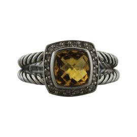 David Yurman Albion Citrine and Diamond Ring