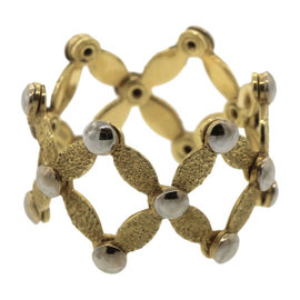 Chimento 18K 750 Yellow Gold Adjustable Band Ring