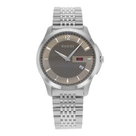Gucci G-Timeless 126.3 YA126310 Stainless Steel Quartz Mens Watch