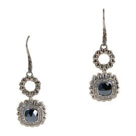 John Hardy Batu Bedeg Hematite Diamond Dangle Earrings