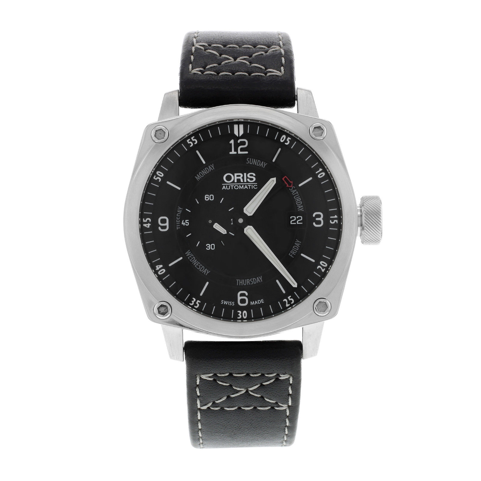 """Image of """"Oris BC4 645 7617 4174 07 5 22 Stainless Steel Automatic Men's Watch"""""""