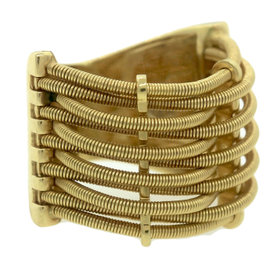 Marco Bicego 18K 750 Yellow Gold Cable Band Ring