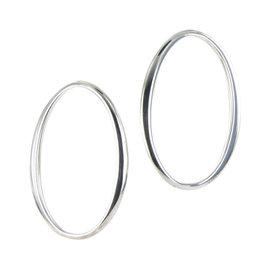 Ippolita 925 Sterling Silver Hoop Earrings