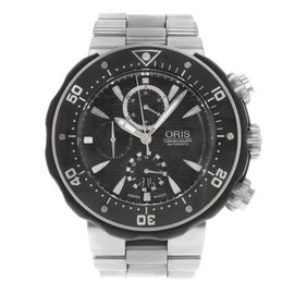 Oris TT1 67476307154 Stainless Steel Automatic 52mm Mens Watch