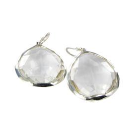Ippolita 925 Sterling Silver Rock Candy Quartz Teardrop Earrings