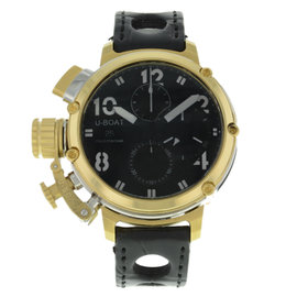 U-Boat Chimera 7225 18K Yellow Gold Automatic 45mm Mens Watch