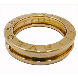 Bulgari 750 Pink Gold B Zero1 Ring Size 7