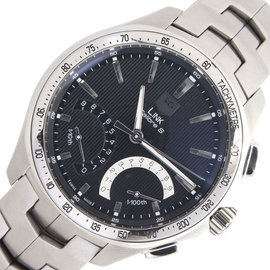 Tag Heuer Link Calibre Cat7010 Stainless Steel 45mm Mens Watch