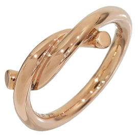 Cartier 750 Rose Gold Entrace Ring Size 4.0