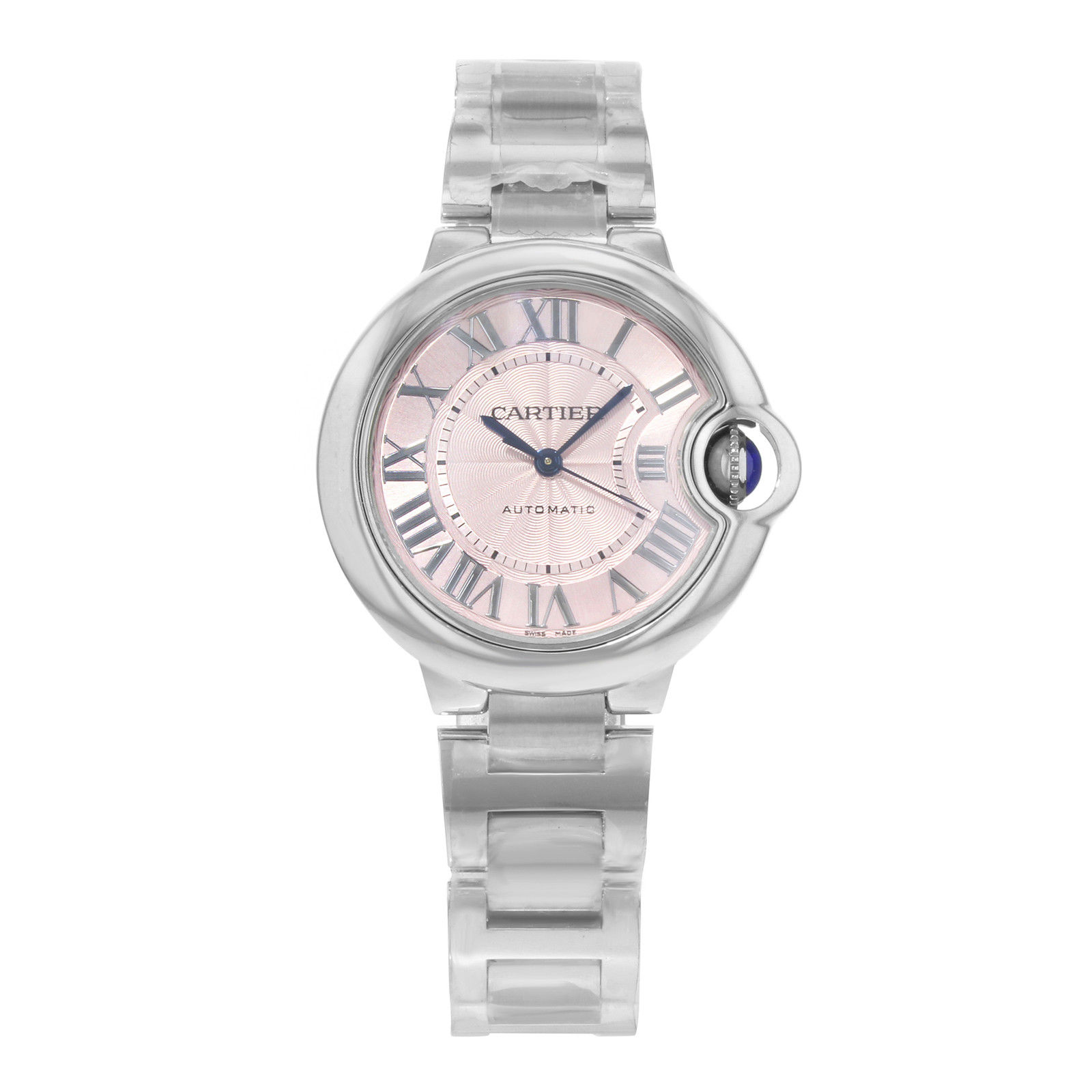 "Image of ""Cartier Ballon Bleu W6920100 Stainless Steel Automatic 33mm Womens"""