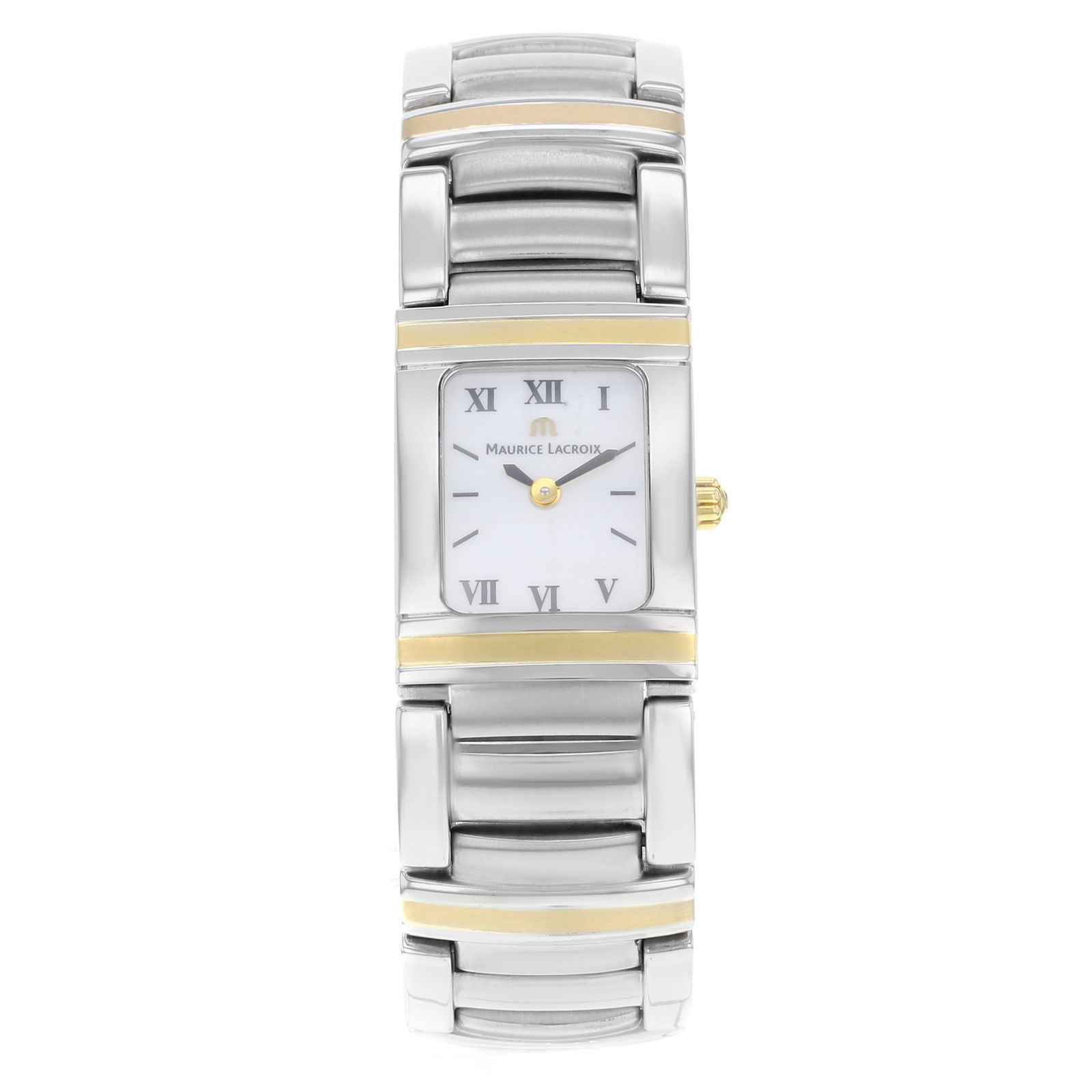 """Image of """"Maurice Lacroix Integral Mi2012-Ys105-110 18K Yellow Gold & Stainless"""""""