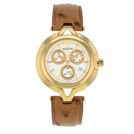 Valentino Chronograph V51LCQ5002-S497 Gold Tone Stainless Steel Quartz 40mm Unisex Watch