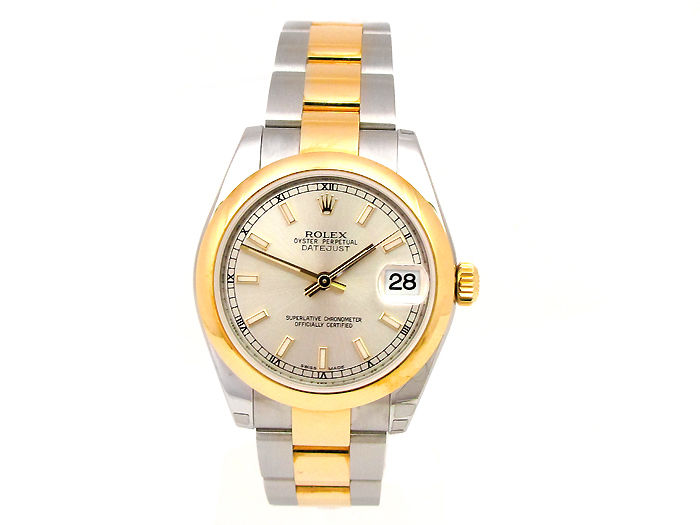 """Image of """"Rolex Datejust 178243 18K Gold & Stainless Steel 31mm Womens Watch"""""""