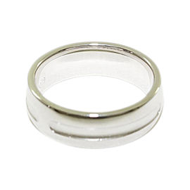 Hermes 750 White Gold Ring Size 5